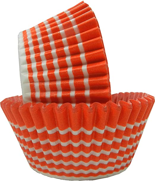 Regency Wraps Greaseproof Baking Cups Standard 40 Count Black Polka Dots