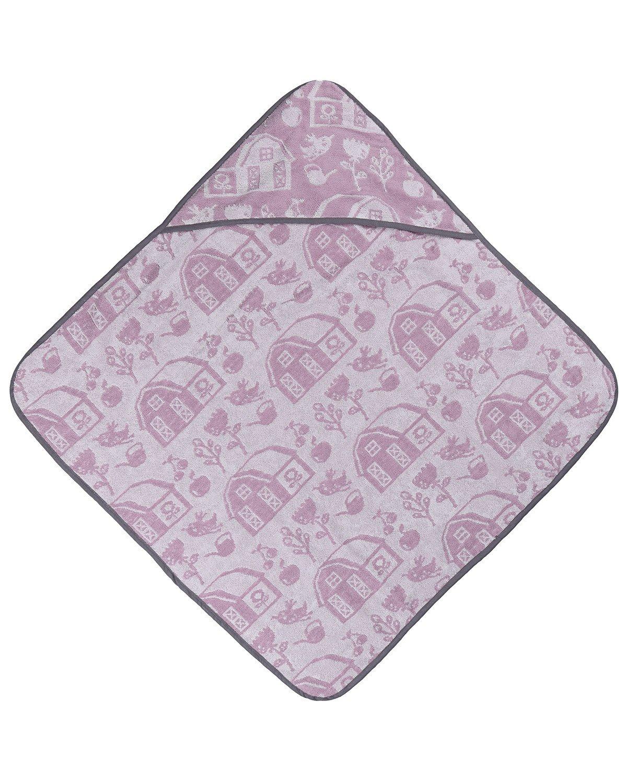 Sebra Handtuch mit Kapuze, Kinder, One Size, Rose 1010201
