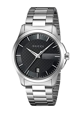 Gucci G-Timelss Quartz Stainless Steel Watch, Color:Silver-Toned