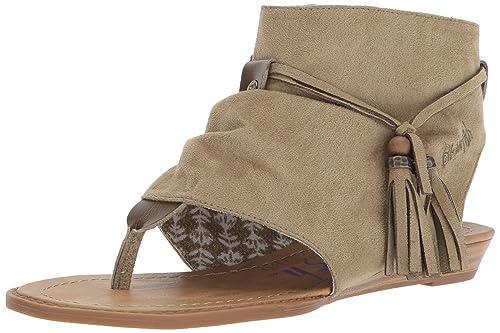 07cef07fd32f Blowfish Womens Brueke Wedge Sandal  Amazon.ca  Shoes   Handbags