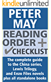 Peter May Reading Order and Checklist: The complete guide to the China series, Lewis Trilogy and Enzo Files novels plus all standalone books