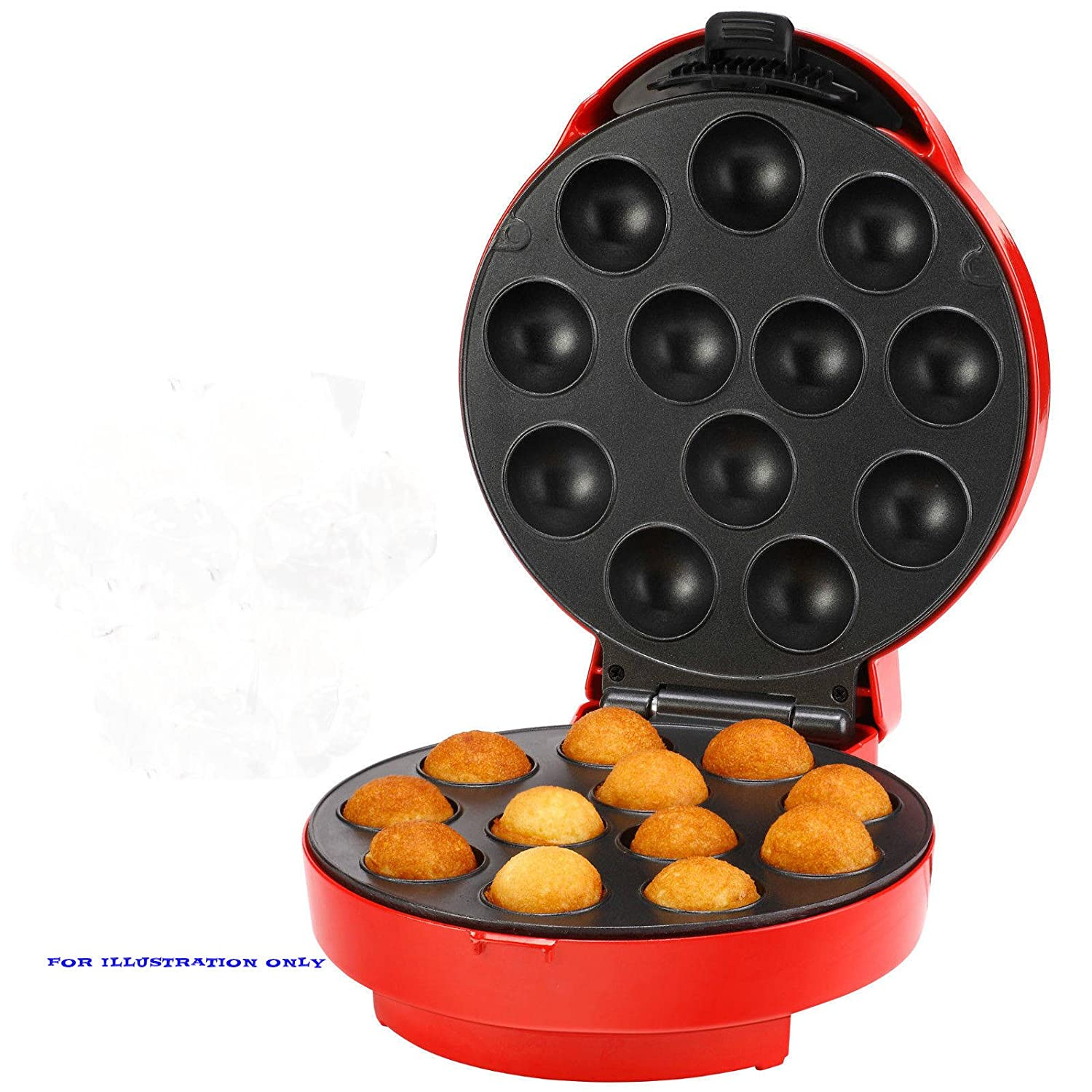 12 hole pop cake maker, non stick, easy to use.Ideal For All Family Occasions And Celebrations thumbsup
