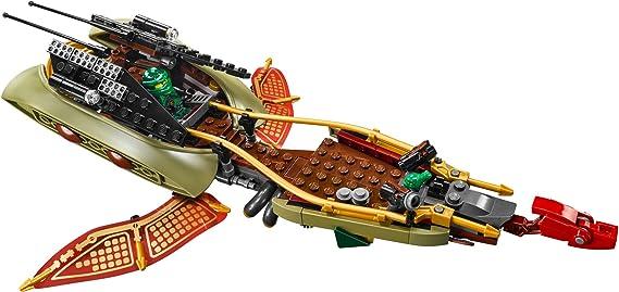 New 378pcs Ninja Destiny/'s Shadow Swamp Vehicle Lake Boats Model Building