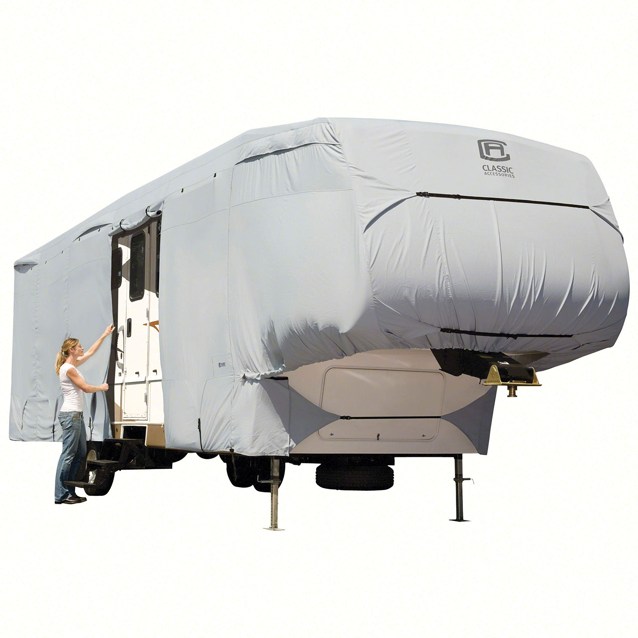 Classic Accessories OverDrive PermaPro Heavy Duty Cover for 37' to 40' Extra Tall 5th Wheel Trailers by Classic Accessories