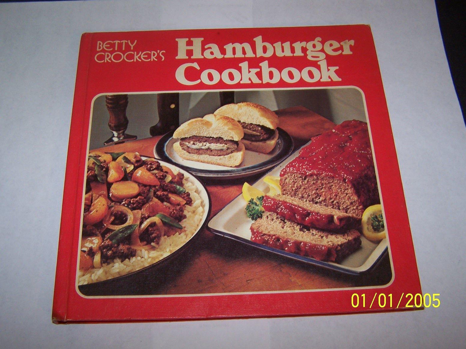 Crockers Hamburger Cookbook Crocker Hardcover product image