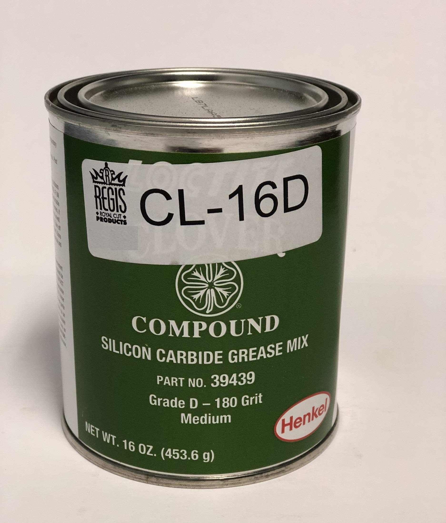 IE PARTS GROUP Clover Compound 180 Grit Lapping and Grinding Compound. 1LB Can (180 Grit 1.0Lb Can)