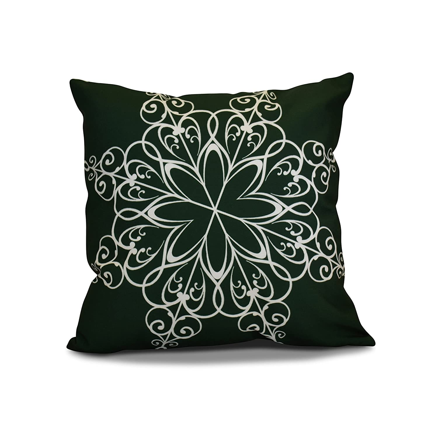 Decorative Holiday 16x16 Green E by design PHGN681GR26-16 16 x 16 inch
