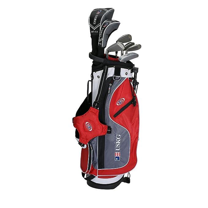 Amazon.com: US Kids golf UL54 7-club DV2 Juego de bolsa de ...