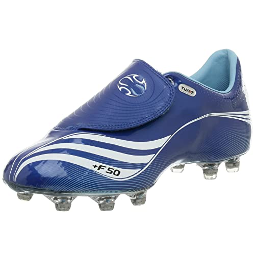 size 40 d7d5b ae8ab Adidas Men s +F50.7 Tunit Soccer Cleat, Blue White Pacific, 8.5 M  Buy  Online at Low Prices in India - Amazon.in