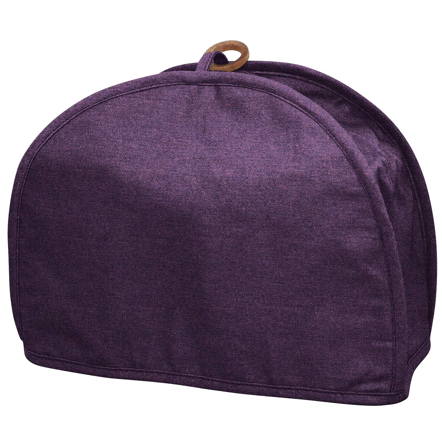 2 Slice Toaster Cover Tan,2 Slice Bread Toaster Oven Dustproof Cover,Cotton Quilted Kitchen Broiler Appliance Organizer Bag,Home Kitchen Toaster Oven Wallets Hold Toaster Broiler Appliances (Purple)