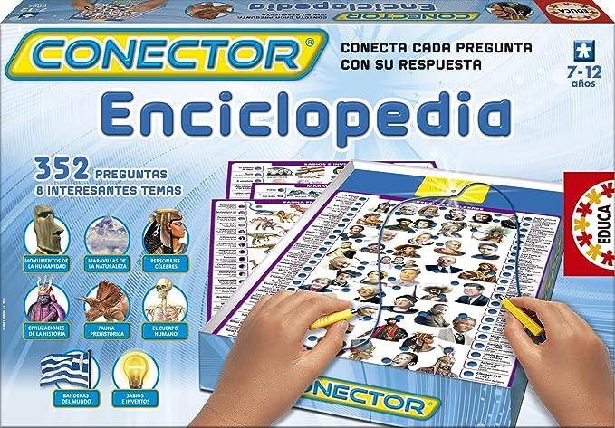 Educa Borrás - Conector Enciclopedia (14254): Amazon.es: Juguetes y juegos