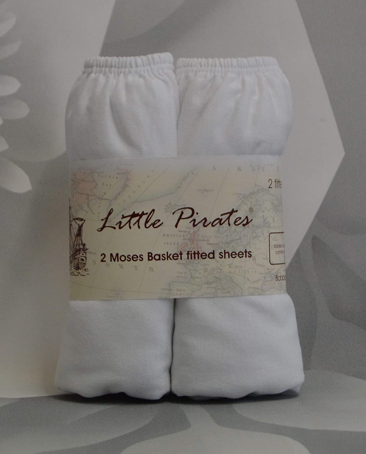 2 x Baby Pram//Crib// Moses Basket Flat Sheet 100/% Cotton White