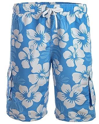 7497b9e3e2af Natation Shorts pour hommes à la mode différentes couleurs 1214-f5150  Turquoise   Bleu