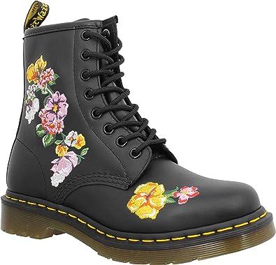 Dr martens vonda cuir femme noir | Fanny chaussures