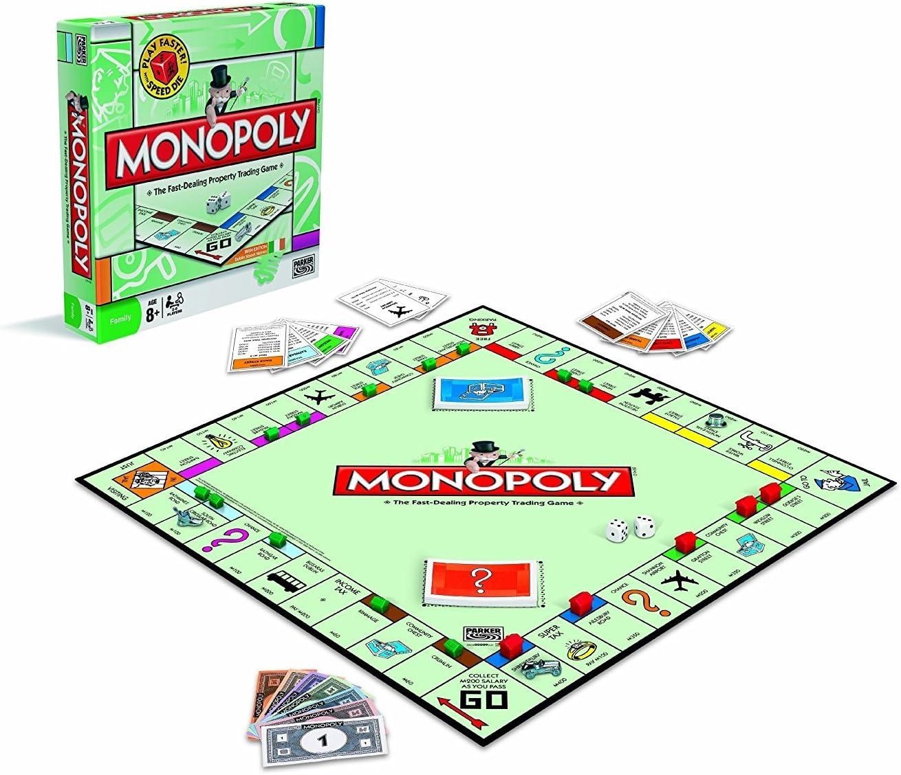 Hasbro A3856 Monopoly Golden Token Bonus - Monopoly edición especial con 5 piezas más (idioma inglés): Amazon.es: Juguetes y juegos