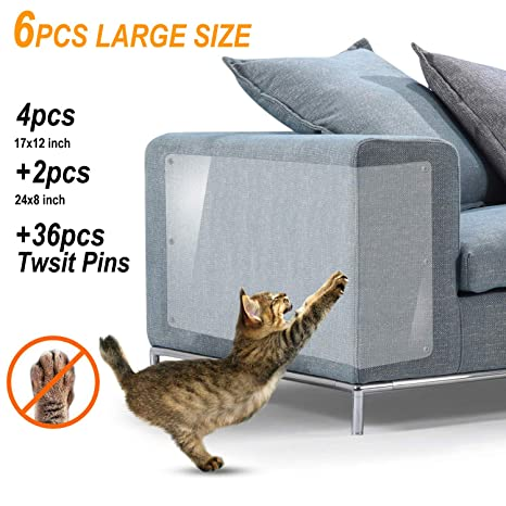 Incredible Dfl Llc 6 Pack X Large Furniture Protectors From Cats Cats Scratching Guard Cat Repellent For Furniture Cat Scratching Pads Cat Couch Protector Download Free Architecture Designs Scobabritishbridgeorg