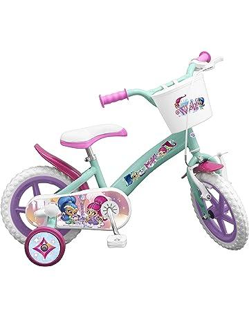 TOIMSA – Bicicleta para niños bajo Licencia Shimmer y Shine 12 Pulgada (de 3 a