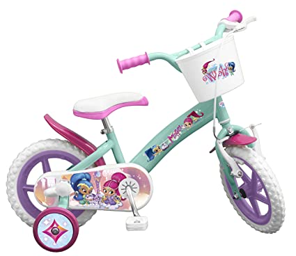 403b4a91c2f5 Image Unavailable. Image not available for. Color: Toimsa Shimmer and Shine  12 Inch Licensed Children's Bicycle ...
