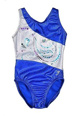 94de0dc58fc1 Amazon.com  Sookie Active Girl s Gymnastics Sparkle Leotard (Youth ...