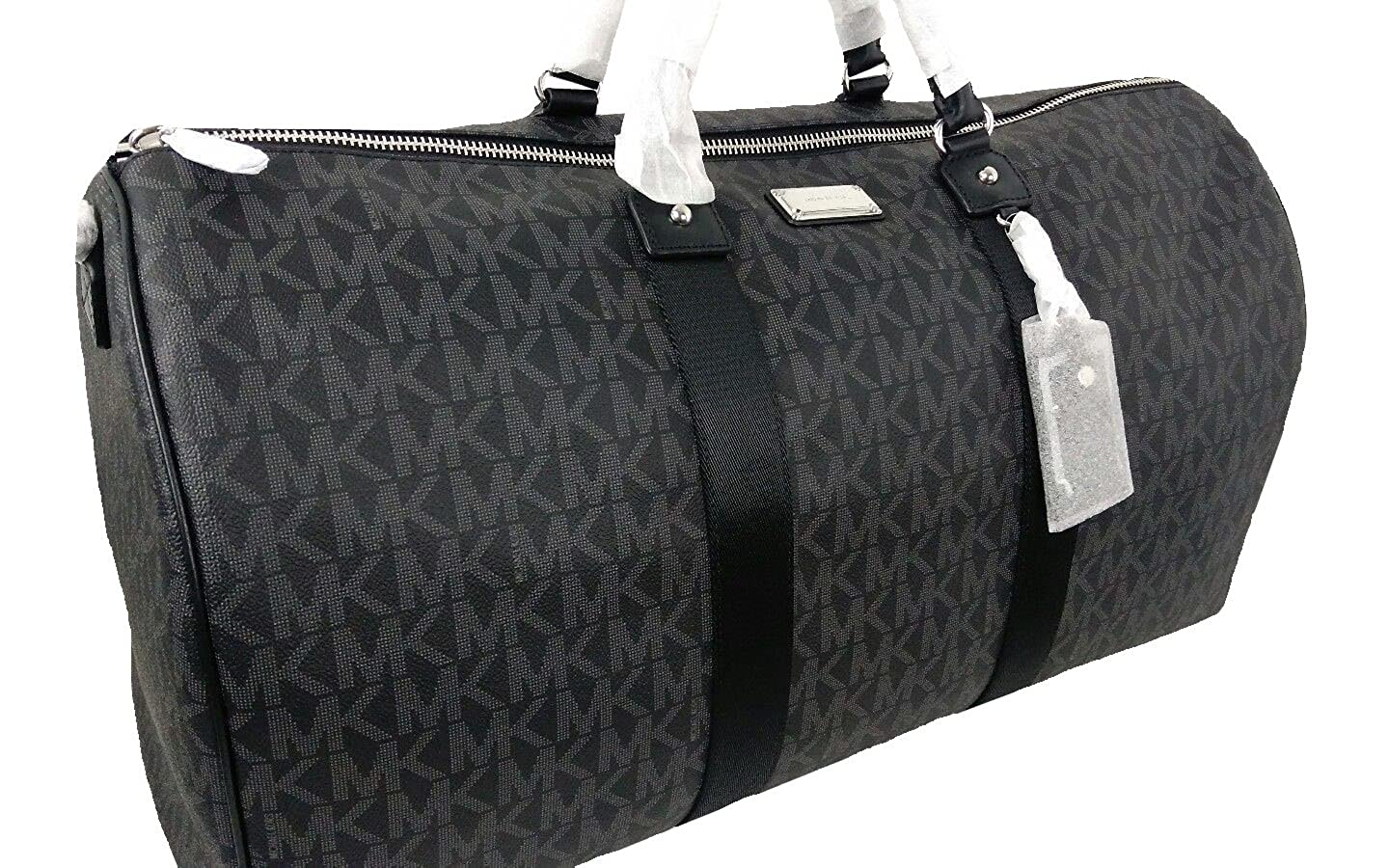 3fa8d6370dfeaa Michael Kors Travel Duffel Bag Black (35T6STFU4B): Amazon.ca: Clothing &  Accessories