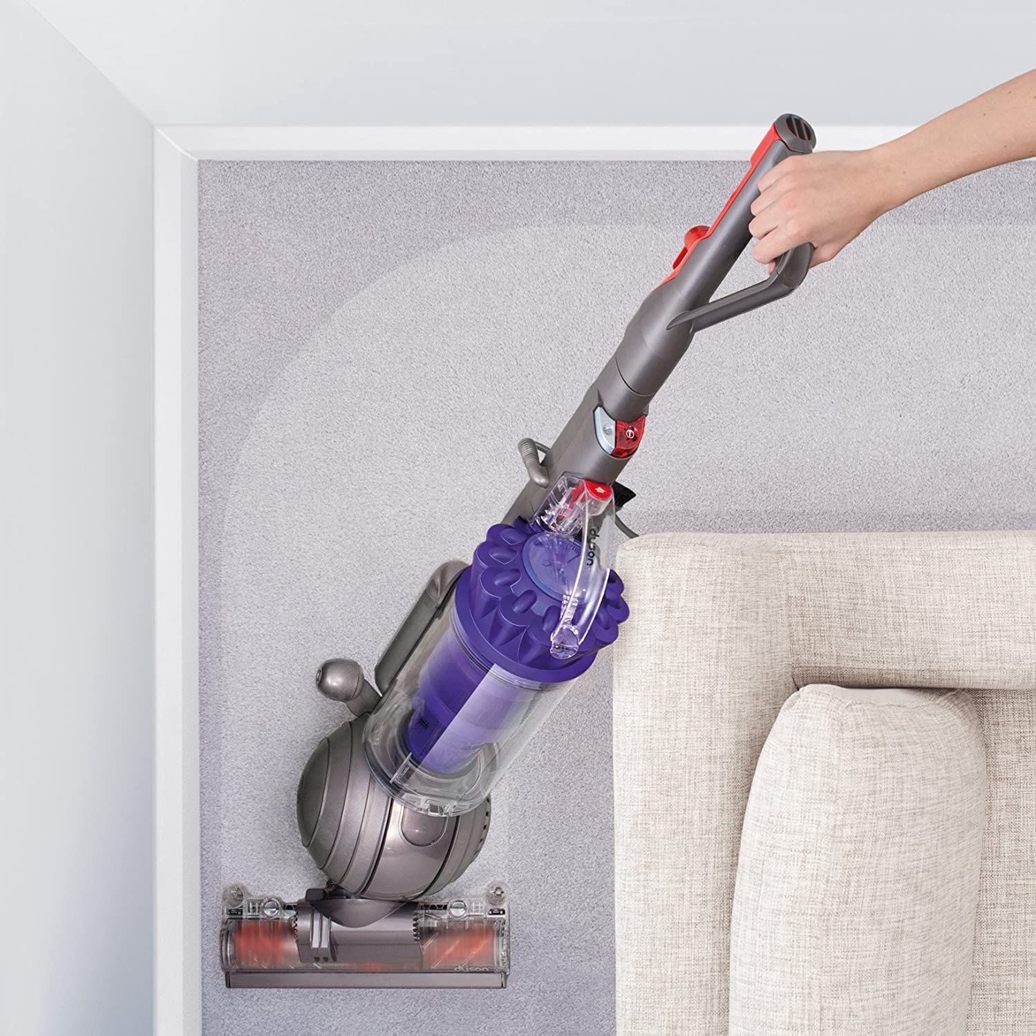 Amazon.com - Dyson DC41 Animal Upright Vacuum Cleaner with Tangle-free  Turbine Tool -
