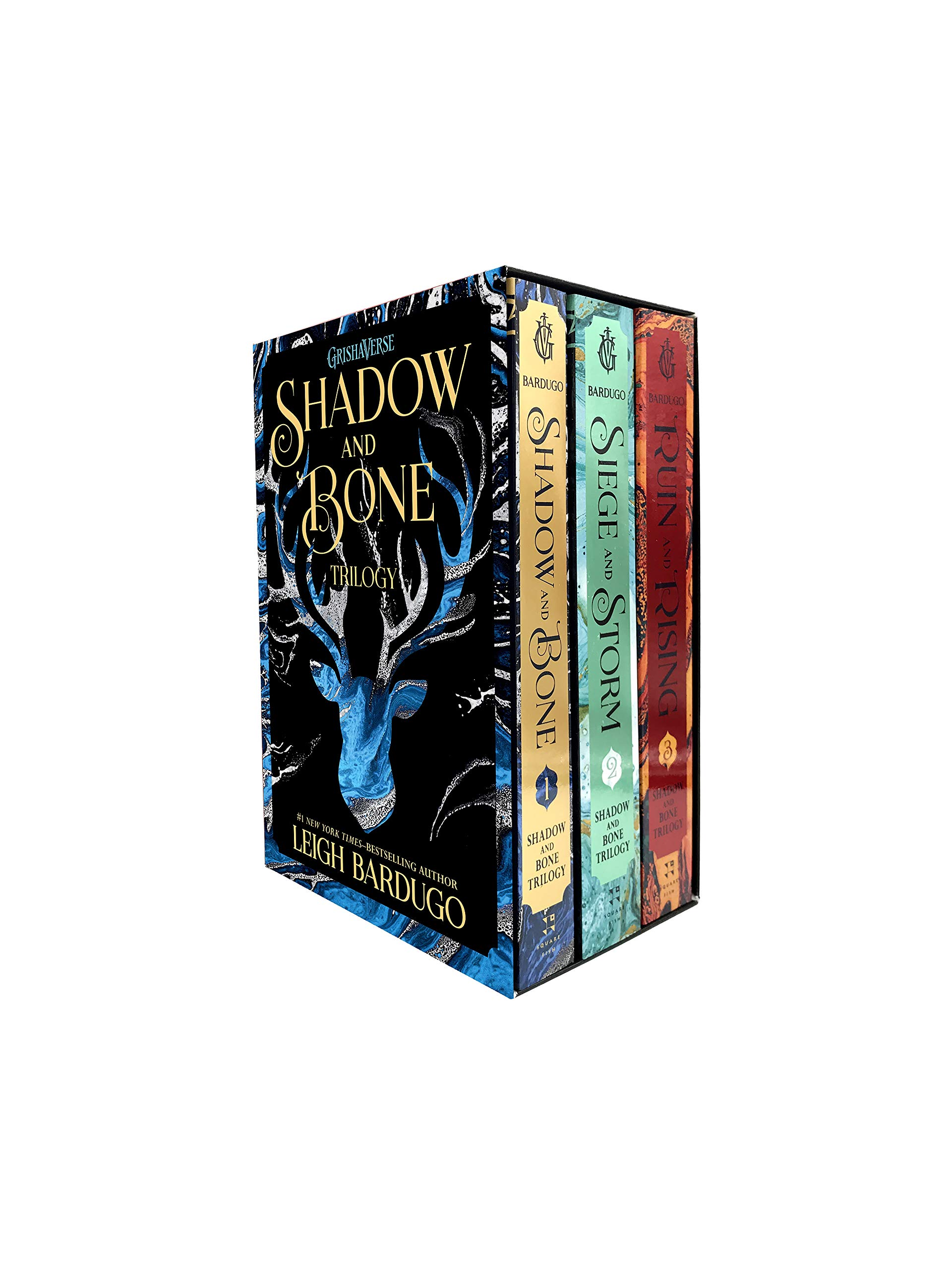 The Shadow and Bone Trilogy Boxed Set: Shadow and Bone, Siege and Storm, Ruin and Rising by Square Fish