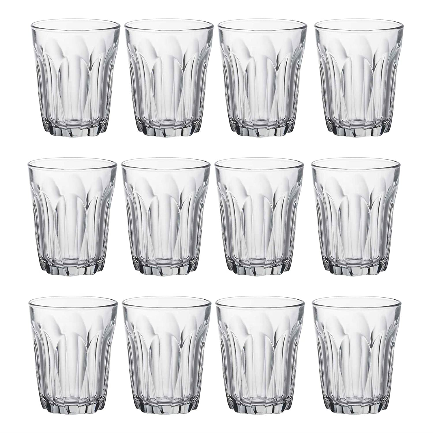 Duralex Provence Water/Juice Traditional Tumbler Glasses - 160ml - Pack of 12