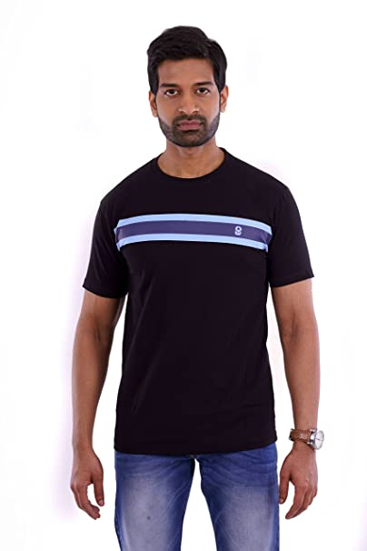 c9cb3de3ed Elyt Club Premium Quality Trendy & Comfortable Men's Blend of Cotton and  Lycra T-Shirt