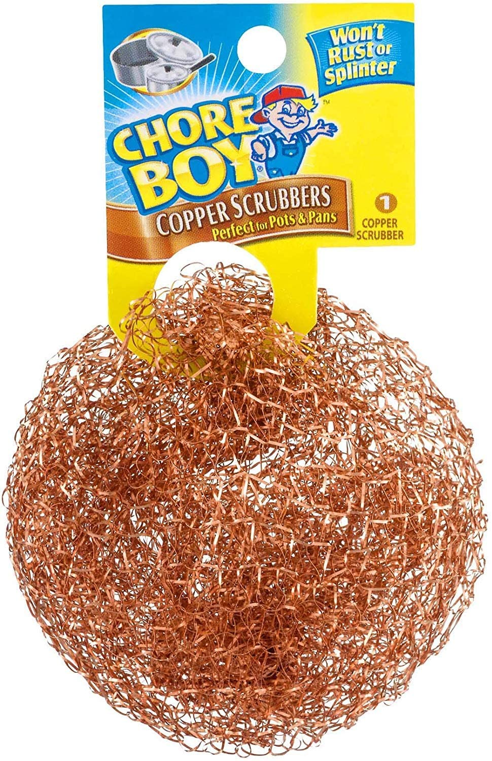 3 Pack Chore Boy Copper Scouring Pad