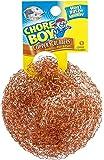 Chore Boy Ultimate Copper Scrubber Scouring Pad, Pure Copper (10-Pack)