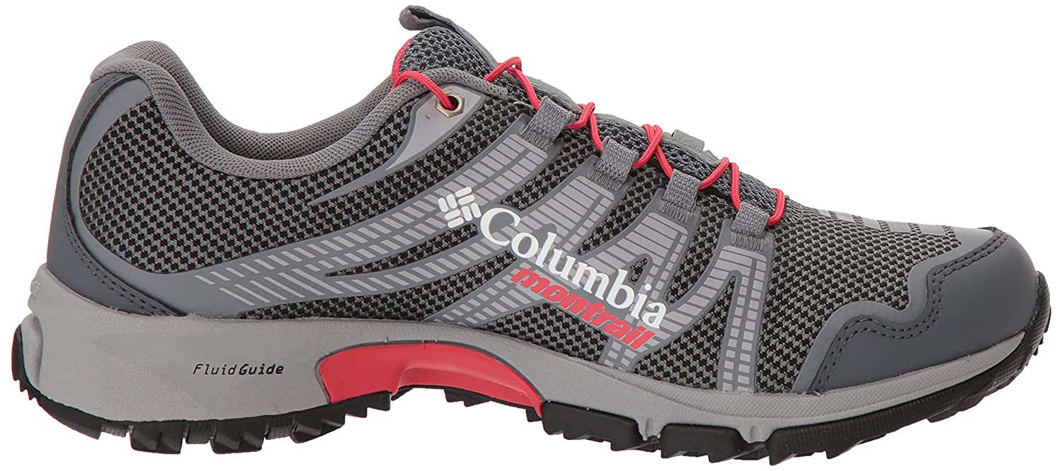 Columbia Montrail Women's Mountain Masochist Iv Outdry Trail Running Shoe Red B072WKDFRF 7.5 B(M) US|Graphite, Red Shoe Camellia fe8bc6