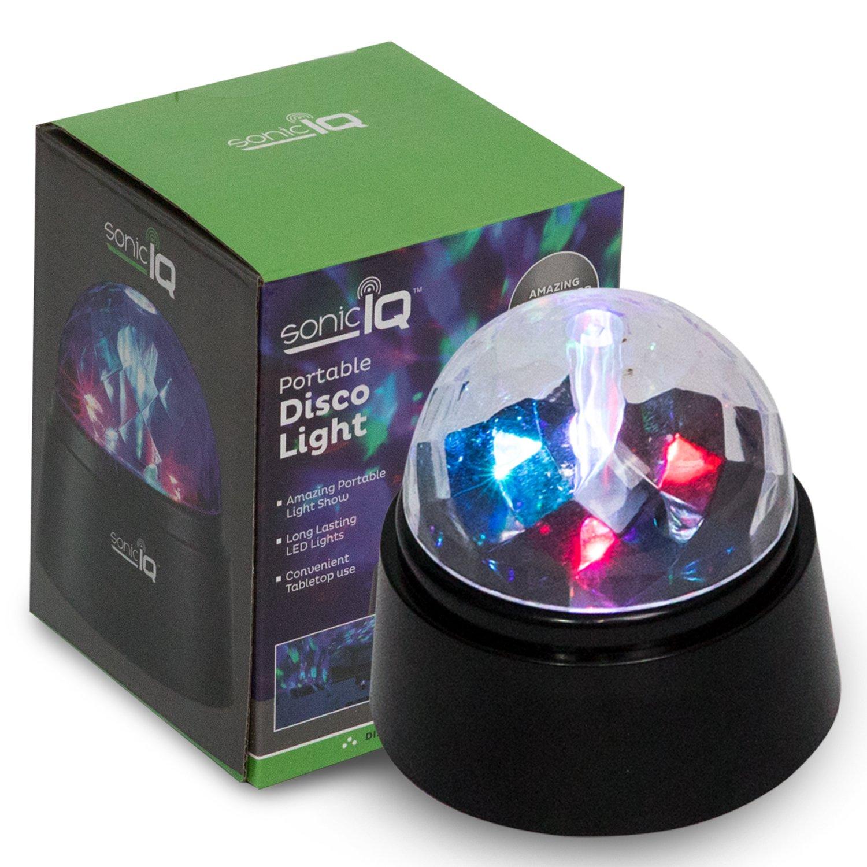 Portable Disco Light - Multi-Color Battery Operated Mini LED Light Show - Festival Party Light Led Stage Light Car Decoration Light