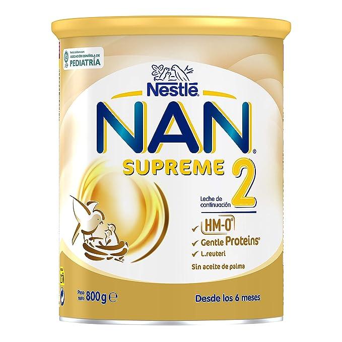 NAN SUPREME 2 - Leche de continuación en polvo Premium - Fórmula para bebé - A
