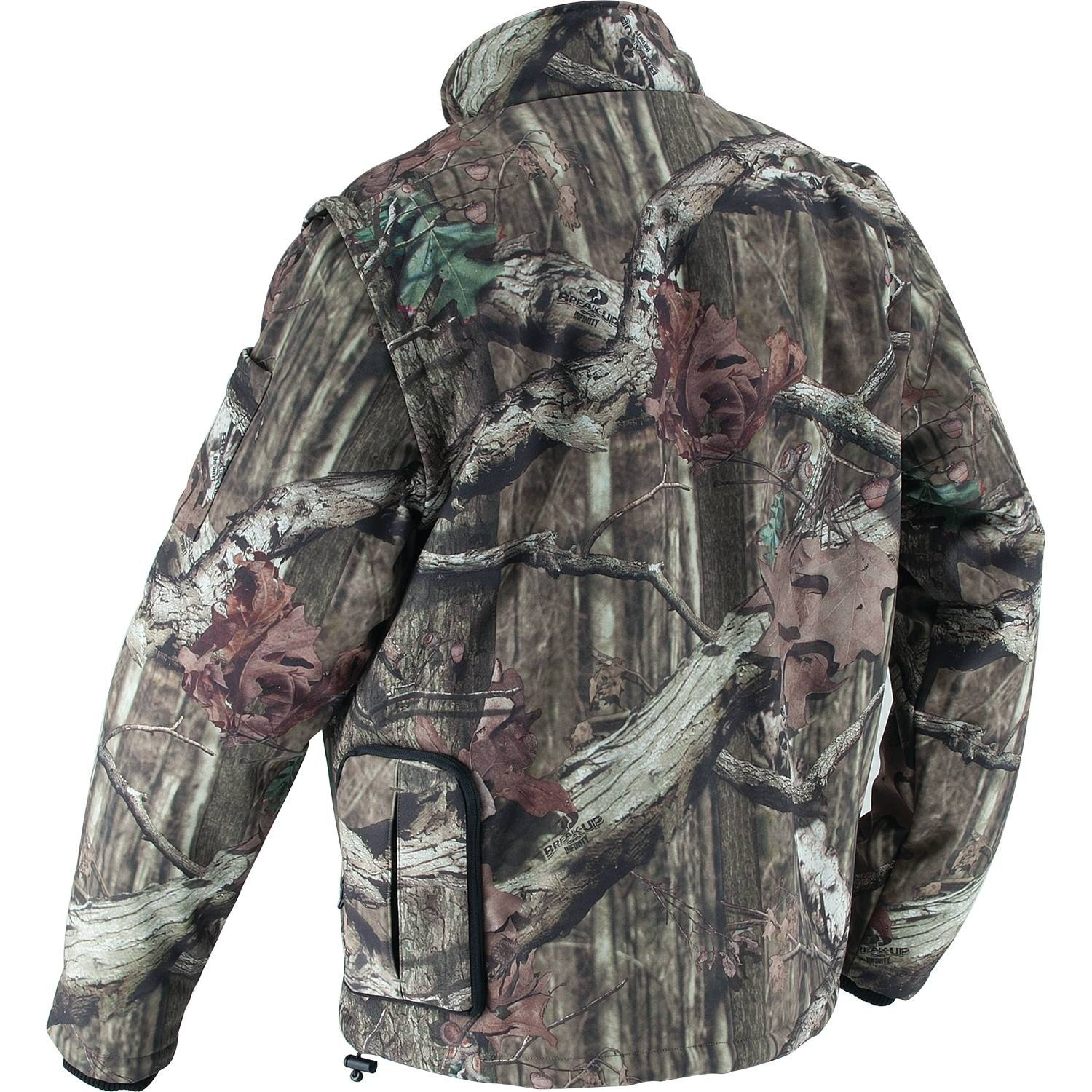 866e7c9dc0f61 Makita DCJ201ZXL 18V LXT Lithium-Ion Cordless Mossy Oak Heated Jacket,  Camo, X-Large - - Amazon.com