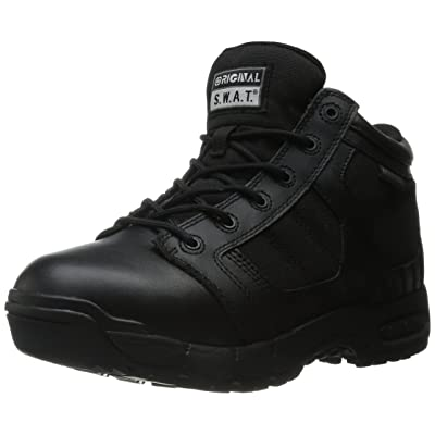 "Original S.W.A.T. Women's Metro Air 5"" Waterproof Side-Zip Women's Black Military & Tactical Boot, Black: Shoes"