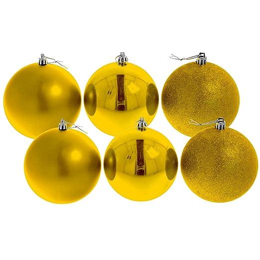christbaumkugeln gold glanzend weihnachten in deutschland. Black Bedroom Furniture Sets. Home Design Ideas