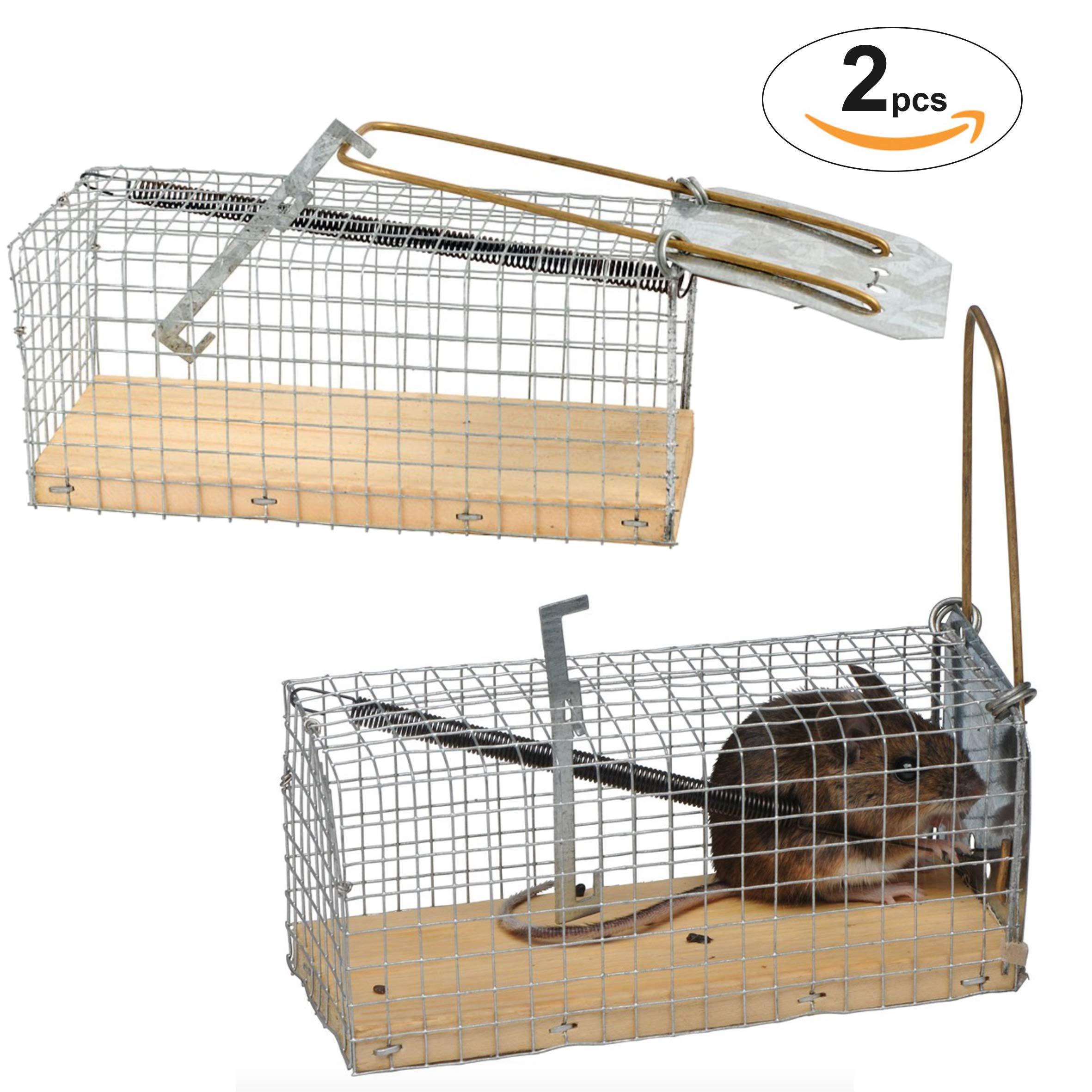 FINCA CASAREJO Trampa para Ratones - Pack 2 Unidades - atrapa los roedores sin matarlos product