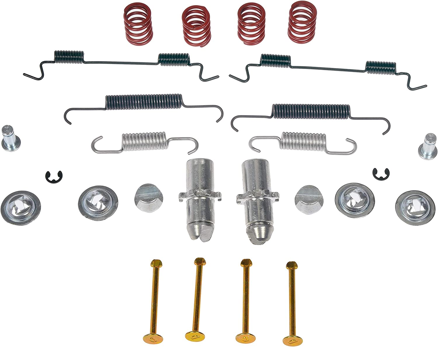 Dorman HW7429 Rear Parking Brake Hardware Kit for Select Infiniti Models