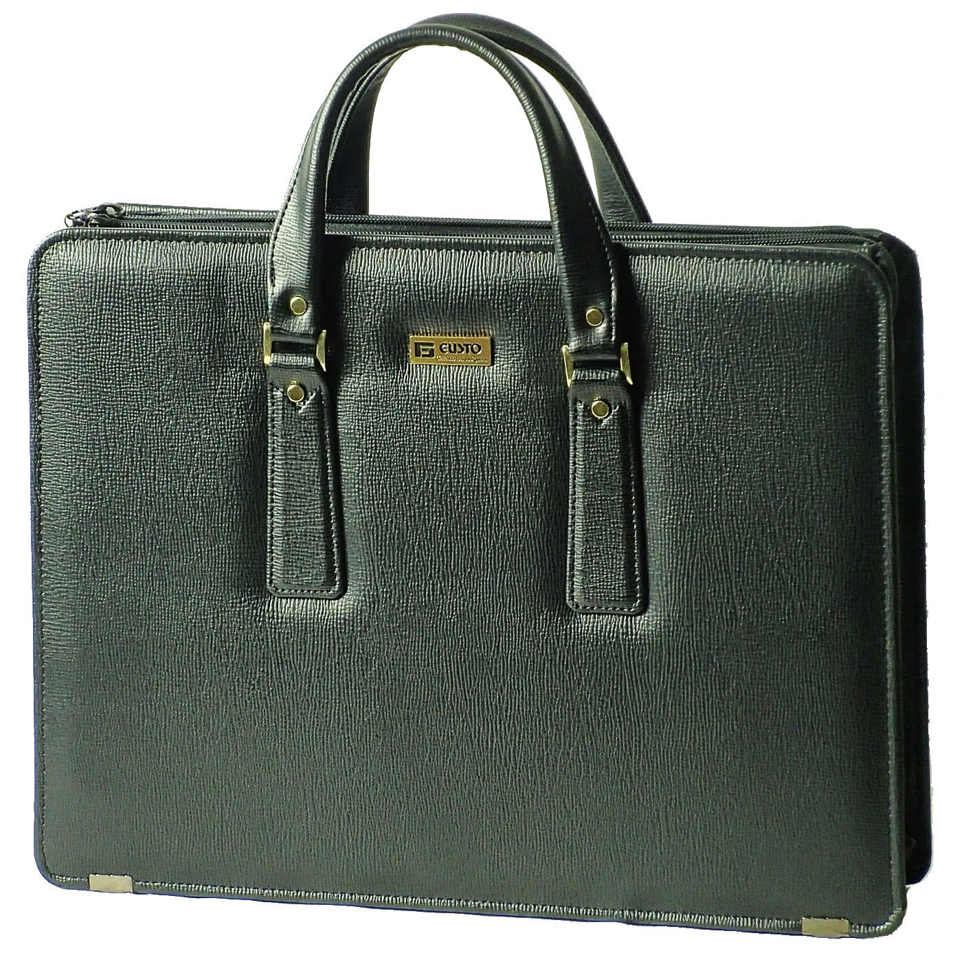 (ガスト)GUSTO ビジネスバッグ ブリーフケース 銀行かばん 日本製 B4 42cm 22026 B00R96W2W2