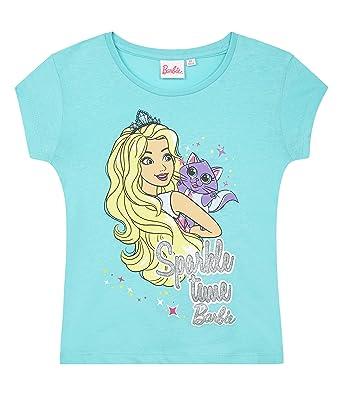 c76c6b3aaecec Barbie Tee-Shirt Fille: Amazon.fr: Vêtements et accessoires