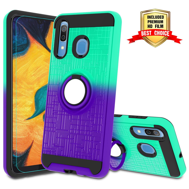 Funda + Vidrio Para Samsung Galaxy A20 / A30 / A50 Con Pie Atump [7tsdzq6v]