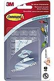 Prodotti Command™ Adesivi Command 87565 Gancio Resistente all'Acqua Trasparente