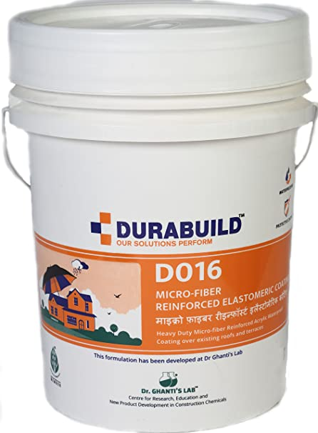 DURABUILD Microfiber-Reinforced Elastomeric Waterproof Coating (7 Kg