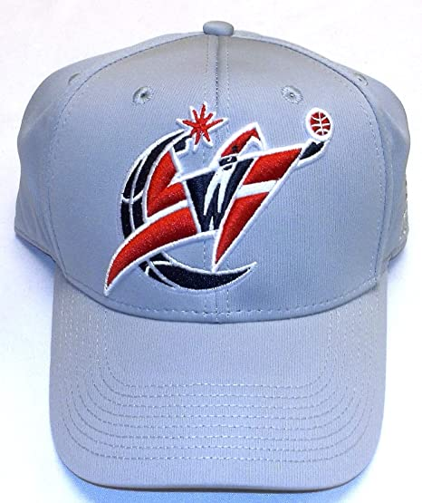 adidas Washington Wizards Gris Run & Gun Flex Ajustable Gorra - S ...