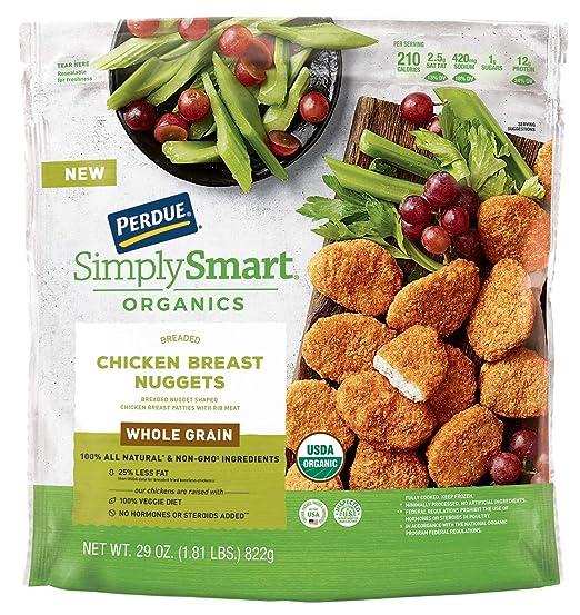 Perdue Whole Grain Chicken Breast Nuggets 18 Lb Frozen Amazon