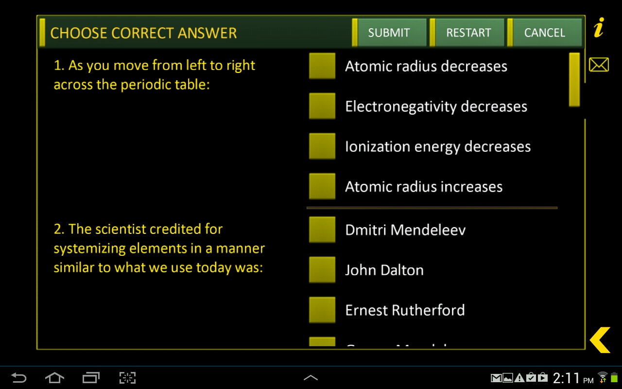 Amazon periodic table chemistry tools appstore for android urtaz Images
