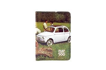 più recente 692d1 b0b85 PORTADOCUMENTI PVC FIAT 500 PRATO: Amazon.it: Auto e Moto