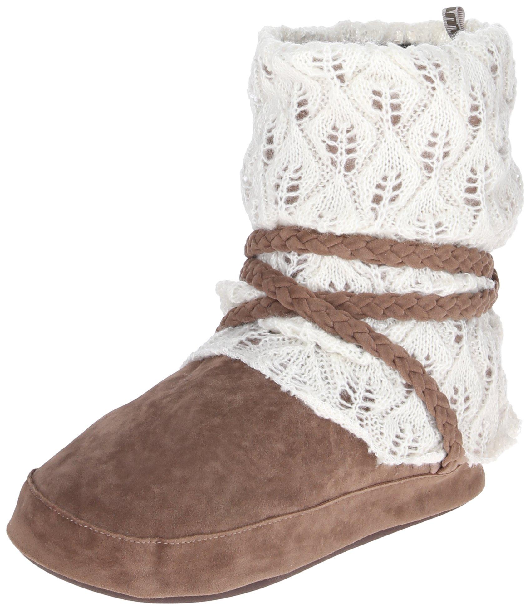 Muk Luks Women's Judie Winter White Slouch Boot