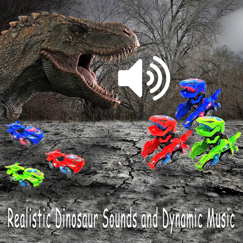 los Mejores Juguetes de Regalo para ni/ños FGZU Dinosaurio Transformaci/ón