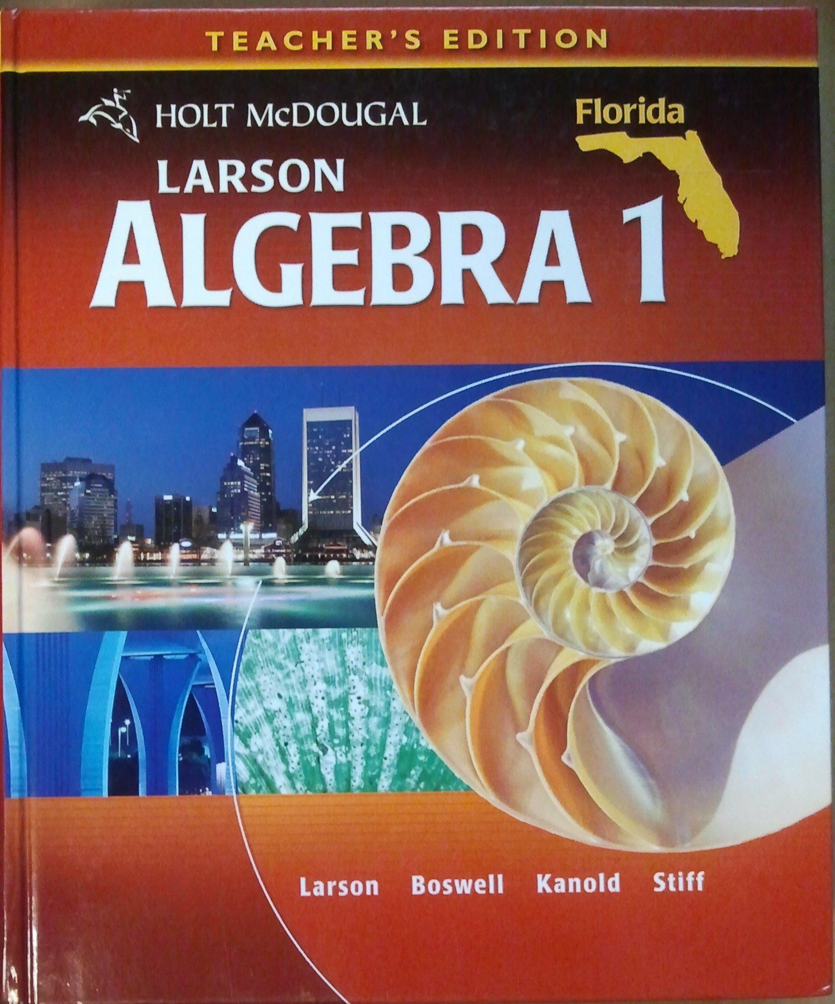 Florida Algebra 1 Textbook